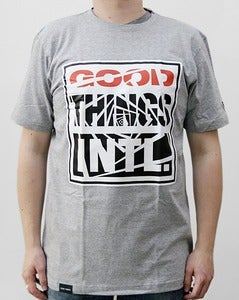 Image of Box Logo Tee grey