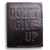 Image of DGU LEATHER WALLET (COLLABORATION WITH MAKE SMITH LEATHER CO.)