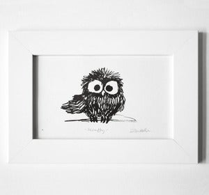 Image of Scruffy Framed Print