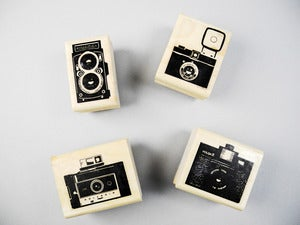 Image of Classic Camera Rubber Stamp