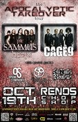 Image of The Sammus Theory and Cage 9 and more at Renos Chop Shop Oct 19