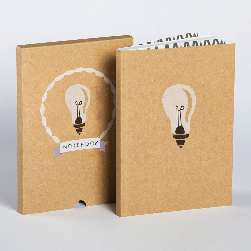Image of Ideas Boxed Blank Notebook