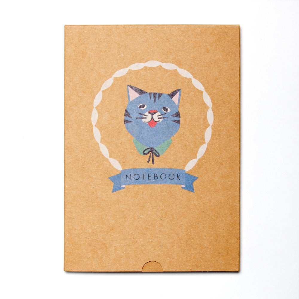 Image of Kitty-Cat Boxed Blank Notebook