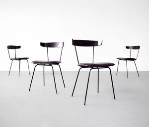 Image of All Black Pascoe Chairs