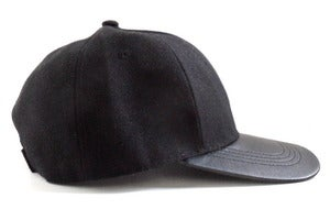 Image of City Cap - Black Leather