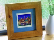 Image of Shalom, Jerusalem Skyline, Framed Original Print