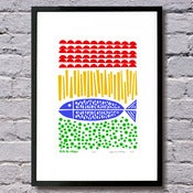 Fish & Chips limited edition print