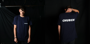 Image of Navy Blue Tee