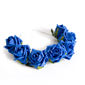 Image of Whole Lotta Rosie Headband - Cobalt