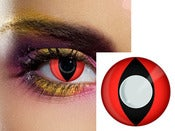Image of Kyuubi Naruto Nine-Tailed Contacts Cosplay Costume Lens