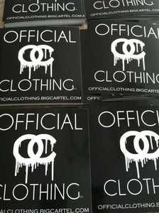 Image of Official Clothing Stickers