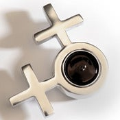 Image of Gender Symbol Tealight Holder - Female & Female