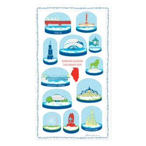 Image of City Towel : Chicago