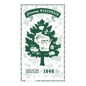 Image of Wisconsin State Towel
