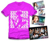 Image of Zendaya Jumping Sticker Package Pink