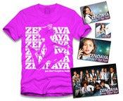 Image of Zendaya Jumping Sticker Package Pink