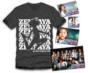 Image of Zendaya Jumping Sticker Package Black