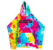 Image of Dope Boy logo Tie Dye Hoodie.