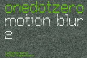 Image of OneDotZero - Motion Blur 2