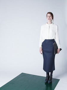 Image of Villahame - Wool skirt