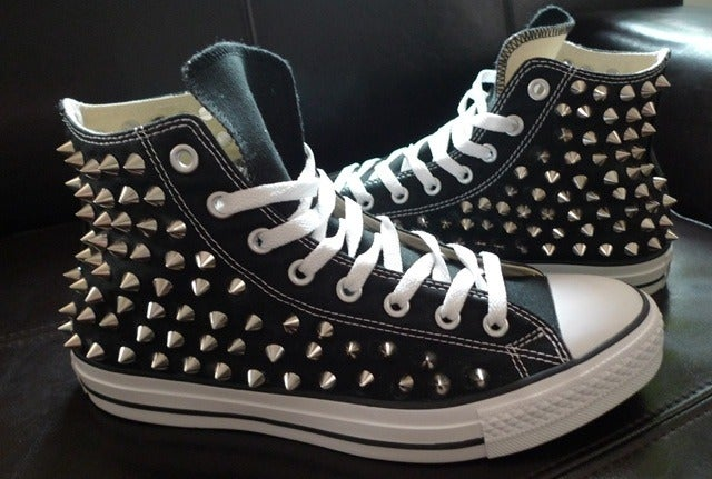 Image of Studded Converse