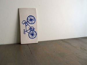 Image of Bike Wall Tile