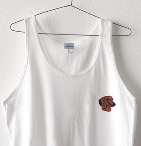 Image of SALCHICHA PATCH TANK TOP