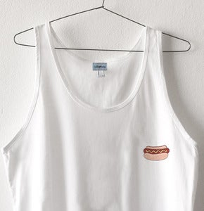 Image of HOT DOG PATCH TANK TOP