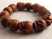Image of Wooden Skulls Bracelet