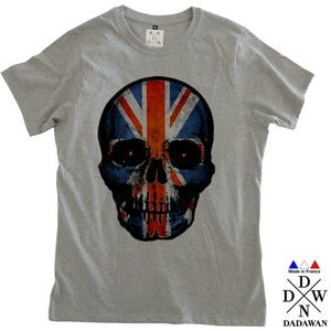 Image of T-shirt homme Hell Yeah Thug Life UK Skull by Dadawan