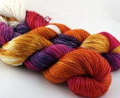 Image of Tequila Sunrise - Merino/Silk Wool Sock Yarn