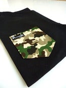 Image of Camo Pocket Tee Unisex