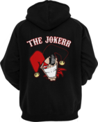 Image of Cartoon Zip-Up Hoodie