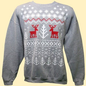 Image of Unisex Ice Kingdom Christmas Sweatshirts