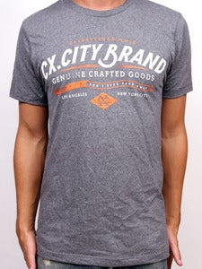 Image of CRAFTED (Charcoal Heather)