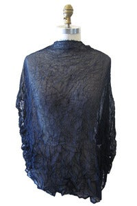 Image of Sheer Moth Hooded Poncho