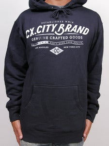 Image of CRAFTED PULLOVER (Navy)