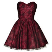 Image of Spider Lace Mini Party Dress