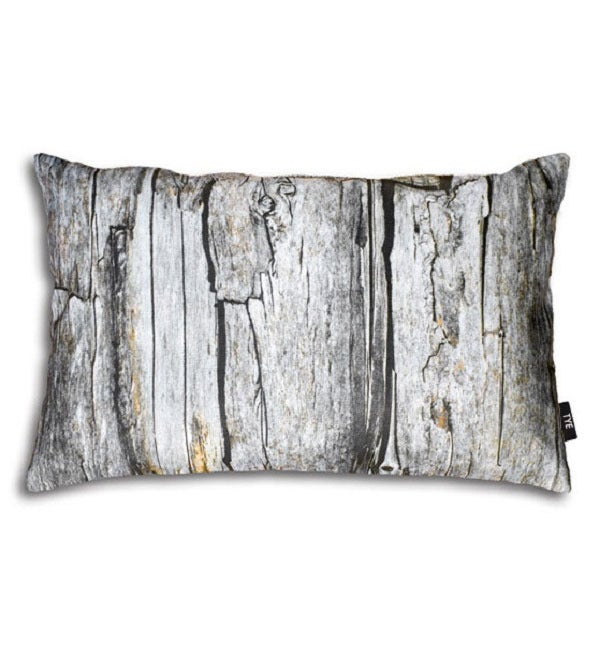Image of Swedish Pillow Cover - &quot;Wood&quot; (cotton)