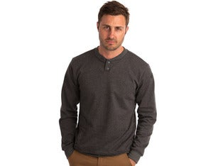 Image of FTX HENLEY - HEATHER GREY