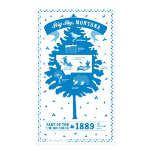 Image of Montana State Towel