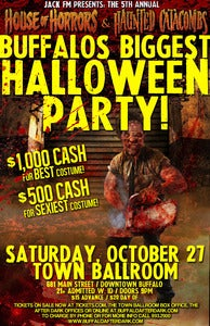 Image of Jack FM, The House of Horrors & Haunted Catacombs present BUFFALO'S BIGGEST HALLOWEEN PARTY!