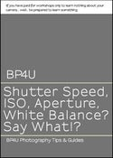 Image of Shutter Speed, ISO, Aperture, White Balance? Say what!?