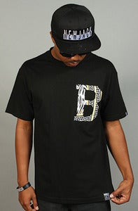 Image of Gianni B Tee Black
