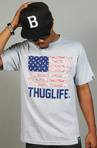 Image of Thuglife Tee Gray