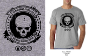 "Image of The Great Culling ""Emblem"" T-Shirt (Grey)"