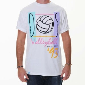 Image of Dos Volleyball '93 | White T-Shirt