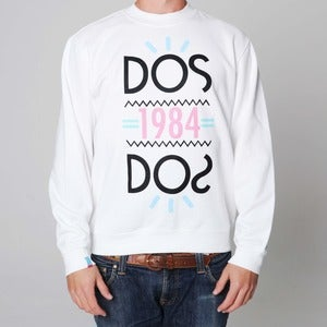 Image of 1984 | White Sweatshirt