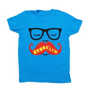 Image of BK Mustache | KIDS TEE