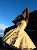 Image of The Akosua Sweetheart Dress (Sunday Born)
